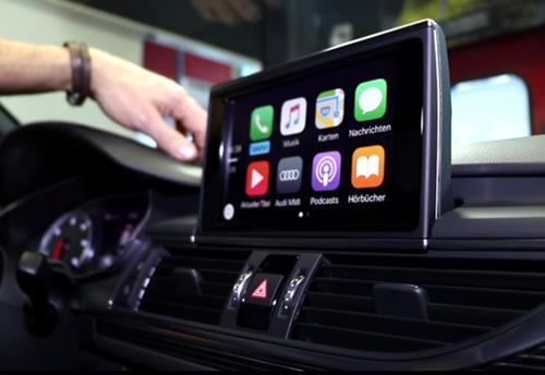 Audi A6/S6/RS6 CarPlay